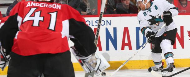Senators Lose to League's Best
