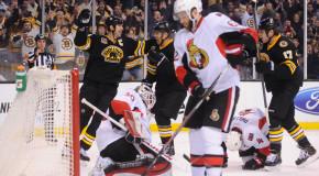 Bruins Embarrass Senators- Highlights