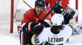 Game Day- Senators Visit Crosby and the Penguins