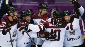 Canada vs. Latvia in Sochi