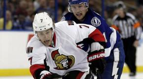 Game Day- Slumping Senators Visit Tampa Bay