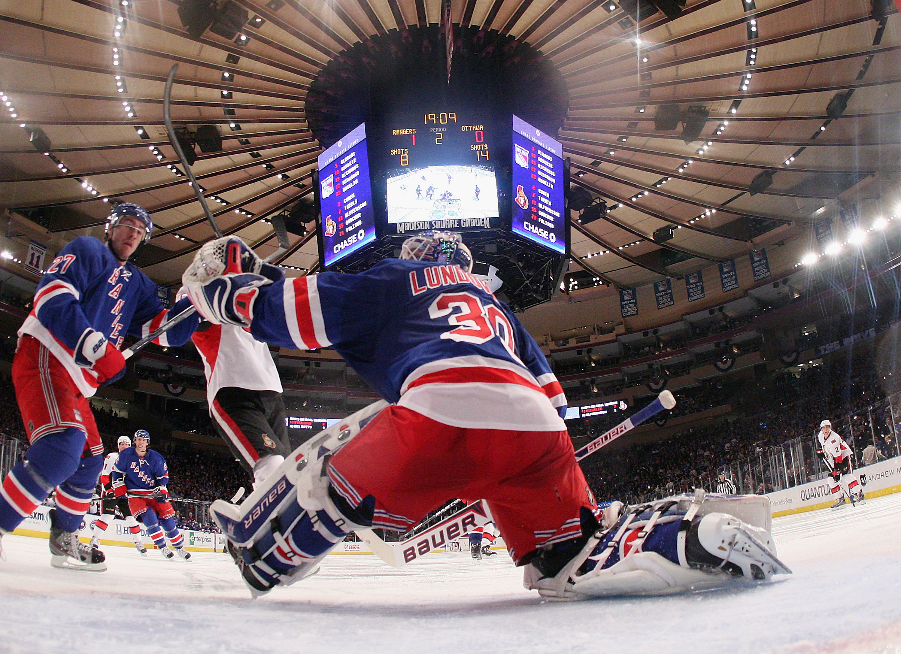 Senschirp Game Day Sens Rangers At Msg
