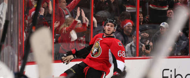 Hoffman Leads Sens to 4th Straight Win
