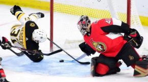 Bruins Top Line Sinks Senators Again