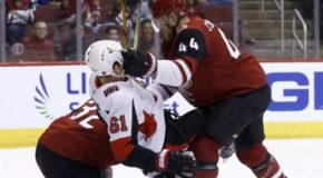 Game Day- Senators Visit Red-Hot Coyotes
