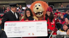 Air Canada Surprises Fan with Trip of a Lifetime