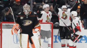 Nilsson, White Lead Senators Over Ducks